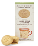 Baked Apple & Custard Biscuits, Elegant & English