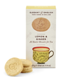 Lemon & Ginger Biscuits, Elegant & English