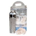 Diamond salt pieces and a grater - Terre Exotique