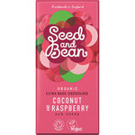 Coconut and Raspberry Chocolate Bar Seed and Bean
