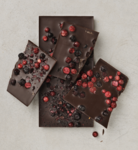 Dark chocolate with Forest Berries Chjoko