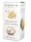 Lemon & Sea Salt & Olive Oil Crackers, the Fine Cheese Company